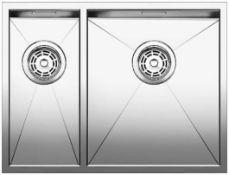 Blanco Zerox 340/180-U Stainless Steel Kitchen Sink Right Hand Main Bowl BL467712 RRP £520