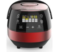 1 x Brand New Drew & Cole Clever Chef 17-in-1 Digital Multi Cooker, Red RRP £139.99