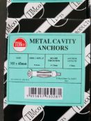 5 Boxes - cavity anchors