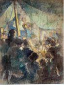 Engel, Otto H., im Zirkus, Mt, 48 x 37, sign.