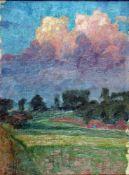 Büchsel, Elisabeth, Wolkengebilde, Öl, 43 x 33, sign.