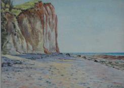 Arnheim, Clara, Hiddensee, Aquarell, 25 x 34, sig.