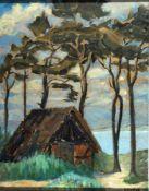 Koch-Stetter, Dora, alter Schuppen, sign. 39 x 31 Öl