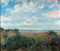 Facklam, Wilh., am Meer, sign. 53 x 64 Öl