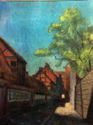 Arnheim, Clara, Im Dorf, sign. 37 x 27 MT