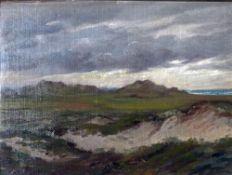 Müller-Kurzwelly, A In den Dünen, mg. 26 x 35 Öl