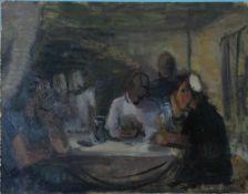 Holtz-Sommer, H. Mutter Courage, Nlst 35 x 45 Öl