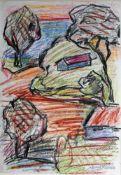 Degner, Arthur An der See, signiert 29 x 20 Mischt