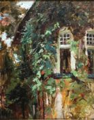 Hennemann, K., Verwunschener Garten, sig 33 x 27 Öl