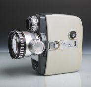 """Filmkamera """"Move x-reflex"""" von Agfa, Objektiv """"Variogon"""" von Schneider Kreuznach,"""