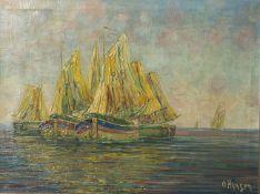 Unbekannter Künstler (wohl 19./20. Jahrhundert), Darstellung von holländischen