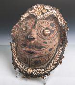 Antike Schildpattmaske (Papua-Neuguinea), Maske aus dem Panzer einer Schildkröte