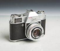 """Kamera """"Retina Reflex"""" von Kodak (Bj. 1956 - 1958), Typo 25, Nr. 65526, Objektiv"""