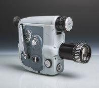 """Filmkamera """"NIZO 8-Allmat"""" von Niezoldi u. Krämer (1925-1967, wohl 1950/60er Jahre),"""