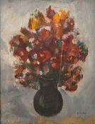 Valtat, Louis (1869 - 1952), Blumenstillleben, Öl/Malpappe, re. u. sign., ca. 35 x 27 cm,