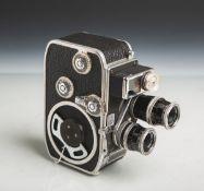 """Filmkamera """"Bolex B8L"""" von Bolex Paillard (Schweiz, Baujahr 1958 - 1961),"""