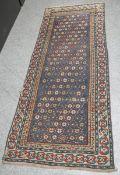 Sternen-Kasak Orientteppich (ca. 150-200 Jahre alt), ca. 90 x 220 cm, entstammt Sammlung
