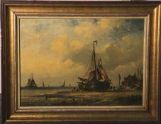 Unbekannter Künstler (wohl norddeutsch oder Holland, 19./20. Jahrhundert), Fischkutter am