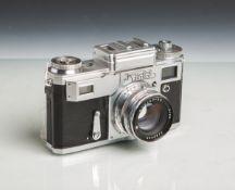 """Kamera """"Kiev 4"""" (Made in USSR, Contax, Baujahr 1957 - 1974), Objektiv """"Jupiter-8M"""", 2/50,"""