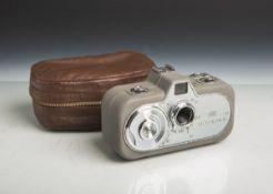 """Kamera """"Movikon 8"""" von Carl Zeiss (Stuttgart, Baujahr 1952), Nr. 5532/288, B72440,"""