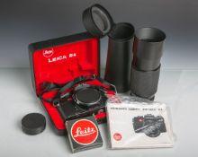 """Kamera Leica R4 m. Objektiv, Gehäusenr. 1554035, Objektiv: """"Leitz"""", Vario-Elmar-R,"""