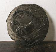 """Ernst Fuchs-Jahresteller """"Pegasus"""" (Rosenthal, 1980), limitierte Kunstreihe (am Rand numm."""