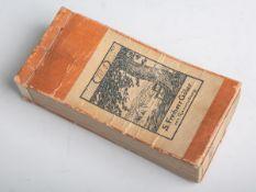 """Gebundenes Buch, Deckel bez. """"XIII. 3. S. Freiherr Göler von Ravensburg"""" (wohl China, 19."""