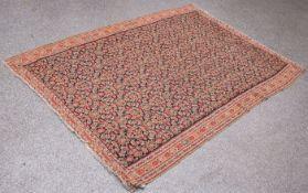 Senneh Kelim (Persien, um 1900), Wolle auf Wolle, handgeknüpft, ca. 181 x 128 cm.