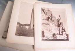 Sébah, Pascal (1823-1883), 10 Fotoaufnahmen auf Kartonage, Fotos von Ägypten-Verlag Egypt