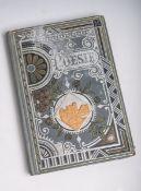 Antikes prächtig verziertes Poesiealbum (Königsbrück, Ende 19. Jahrhundert), zum Teil mit