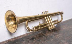 """Trompete """"Baldwin Special Elkhart-Ind."""", mehrfach nummeriert: 402497 / TU 400 /"""