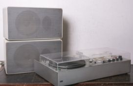 """Kompaktanlage """"Audio 300"""" von Braun (1962), m. Radio TC40 u. Plattenspieler PC45, Design"""