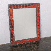 Spiegel von Prokasky (Glaswerkstatt in Nidda), Handarbeit, rechteckige Form,