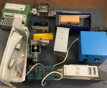 A Selection of Scientific equipment to do with paint
