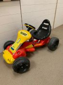 A children pedal GO Kart with electric charger