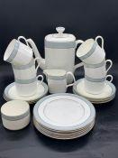 "Royal Doulton fine bone china tea set ""Etude"""