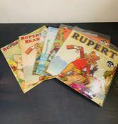 Six sealed Rupert Bear calendars 2011,2012,2013 and 2016,2017,2018