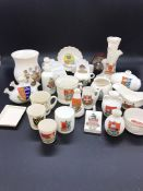 A small selection of Crest Ware
