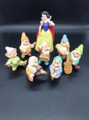 Snow White and the Seven Dwarves China Figures from Disney