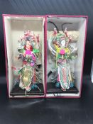 Two Japanese figurines