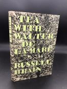 """""""Tea with Walter de la Mare"""" Book by Russel Brain and book """"Behold This Dreamer"""" by English poet,"""