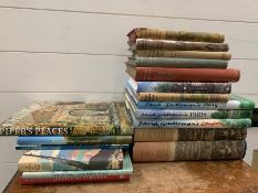 A selection of travel reference books to include, David Gentleman's Italy, Paris and London, English