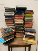 Large selection of fiction and poetry books to include, Antonia Fraser A Splash of Red, Melvyn Bragg