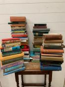 A selection of reference books to include, The Fragrant Pharmacy, Caught in the Web of Words, Baby