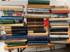 A selection of History and Biography books to include, Dairy of a Country Parson, Novels and Tales -