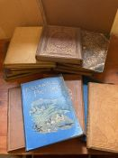 A large selection of Drawn with Pen and Pencil books to include, Icelandic Pictures, Norwegian