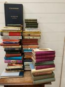 A selection of biography's books to include, The History of Everyday Thing in England, The Doings of