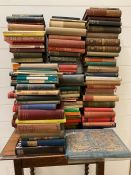 A selection of classic fiction and poetry books to include, Shelley's Poetical Works, That Hideous
