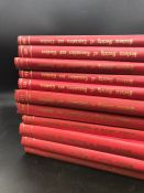 """Collection of eleven """"Historic Society of Lancashire and Cheshire"""" books."""