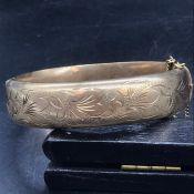 A 9 ct Gold Bracelet (24g)